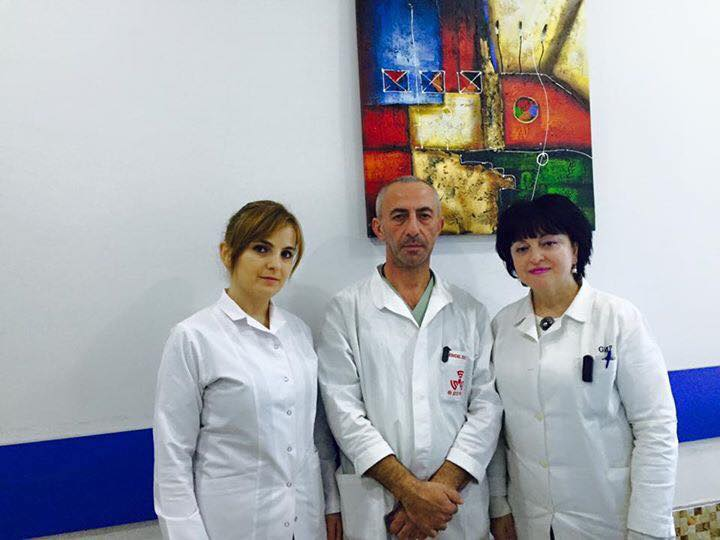 In the Department of Radiation Oncology of the professional specialists will serve you!